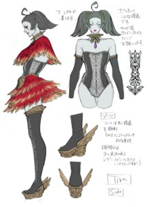 Rating: Questionable Score: 3 Tags: character_design cleavage corset see_through sketch soul_calibur soul_calibur_v tira weapon User: Yokaiou