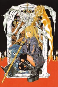 Rating: Safe Score: 4 Tags: amane_misa death_note obata_takeshi rem User: Radioactive