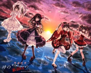 Rating: Safe Score: 29 Tags: bandages date_a_live dress eyepatch garter gothic_lolita lolita_fashion thighhighs tokisaki_kurumi tsubasaki umbrella wa_lolita User: Mr_GT