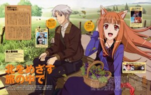 Rating: Safe Score: 8 Tags: animal_ears craft_lawrence holo sasaki_masashi spice_and_wolf tail User: MDGeist