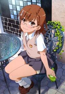 Rating: Safe Score: 25 Tags: megane misaka_mikoto seifuku sweater to_aru_kagaku_no_railgun to_aru_majutsu_no_index User: drop