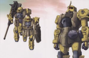Rating: Safe Score: 2 Tags: gundam mecha the_08th_ms_team zaku User: Radioactive