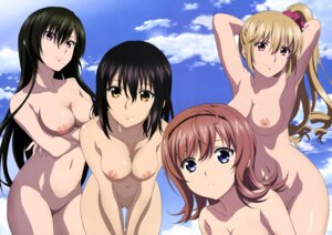Rating: Explicit Score: 99 Tags: aiba_asagi breast_hold detexted eguchi_yume himeragi_yukina kisaki_kiriha naked nipples photoshop pussy sano_takao strike_the_blood strike_the_blood_ii uncensored User: Masutaniyan