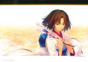 Rating: Safe Score: 25 Tags: kara_no_kyoukai kimono ryougi_shiki takeuchi_takashi type-moon User: fireattack