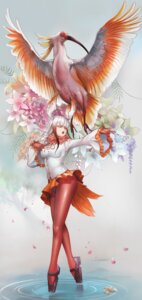 Rating: Safe Score: 32 Tags: crested_ibis dantewontdie kemono_friends pantyhose tail wings User: charunetra