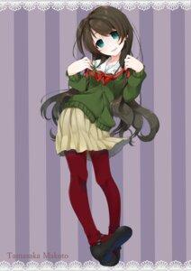 Rating: Safe Score: 19 Tags: mayuri_kaichou pantyhose tamasaka_makoto tokyo_7th_sisters User: Mr_GT