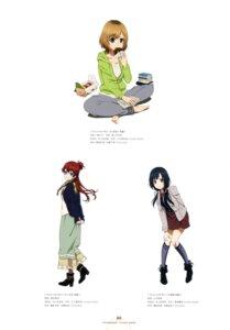 Rating: Safe Score: 28 Tags: feet heels miyamori_aoi miyazaki_tsukasa sakaki_shiinaka shirobako tamita_mari yamagata_haruka yasuhara_ema User: drop
