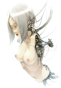 Rating: Questionable Score: 50 Tags: kyo mecha_musume naked nipples User: fireattack