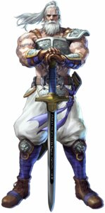Rating: Safe Score: 3 Tags: kawano_takuji male namco soul_calibur soul_calibur_v sword weapon User: Yokaiou
