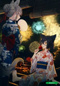 Rating: Safe Score: 24 Tags: animal_ears melonbooks nagishiro_mito tagme tail yukata User: BattlequeenYume