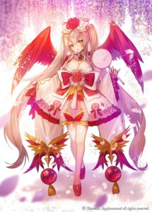 Rating: Safe Score: 28 Tags: apple-caramel cleavage thighhighs wings User: Mr_GT