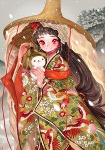 Rating: Safe Score: 13 Tags: asian_clothes candlefish neko_atsume yukineko-san User: charunetra