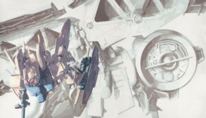 Rating: Safe Score: 9 Tags: gp03 gundam gundam_0083 katoki_hajime User: DDD