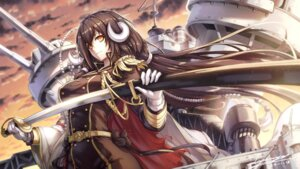 Rating: Safe Score: 37 Tags: azur_lane horns mikasa_(azur_lane) sword tamashii_yuu uniform User: Nepcoheart