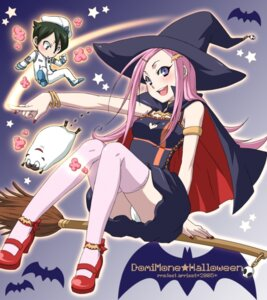 Rating: Questionable Score: 15 Tags: anemone apricot_(circle) cameltoe chibi dominic_sorel dress eureka_seven gulliver pantsu thighhighs uniform witch User: Radioactive