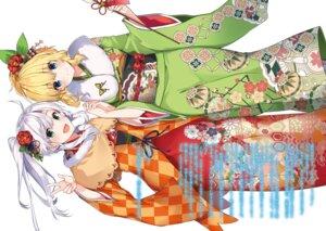 Rating: Safe Score: 22 Tags: kimono mishima_kurone rokudenashi_majutsu_koushi_to_kinki_kyouten rokudenashi_majutsu_koushi_to_memory_records rumia_tingel sistina_fibel User: kiyoe
