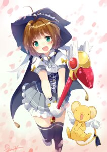 Rating: Safe Score: 40 Tags: afilia_saga_east card_captor_sakura cosplay dress kerberos kinomoto_sakura pun2 thighhighs wings User: charunetra
