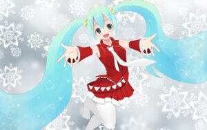 Rating: Safe Score: 14 Tags: chevalier-zero christmas hatsune_miku thighhighs vocaloid User: dicky219