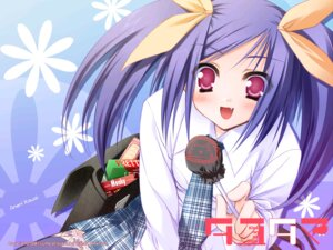 Rating: Safe Score: 19 Tags: kawai_ameri moekibara_fumitake tayutama wallpaper User: nanami