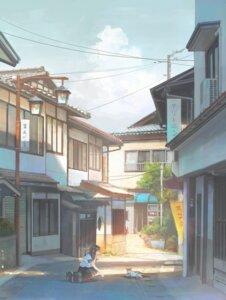 Rating: Questionable Score: 28 Tags: landscape neko seifuku sho_(shoichi-kokubun) User: yanis