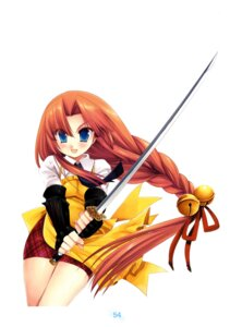 Rating: Safe Score: 9 Tags: miyasu_risa sakurara! sword User: fireattack