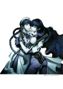 Rating: Safe Score: 22 Tags: ass black_lagoon gun hiroe_rei maid roberta yuri User: drop