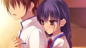 Rating: Safe Score: 26 Tags: game_cg muririn nagamitsu_maya noble_works yuzu-soft User: Odin41028