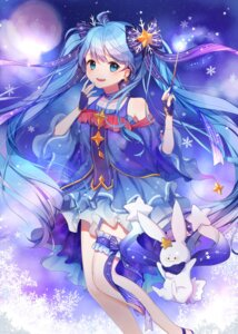 Rating: Safe Score: 48 Tags: garter hatsune_miku herb_(artist) vocaloid yuki_miku User: Mr_GT