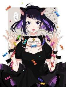 Rating: Safe Score: 25 Tags: animal_ears boku_no_hero_academia dress halloween jirou_kyouka nekomimi osanai User: charunetra