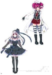 Rating: Safe Score: 26 Tags: cleavage dress kamiya_maneki lolita_fashion thighhighs User: crim