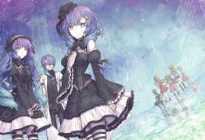 Rating: Safe Score: 27 Tags: gothic_lolita heterochromia lolita_fashion syuri22 thighhighs User: Zenex