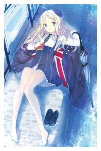 Rating: Questionable Score: 33 Tags: fujiwara_warawara pantsu pantyhose seifuku umbrella User: hiroimo2