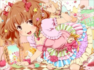 Rating: Safe Score: 26 Tags: cleavage moroboshi_kirari nekoyanagi_moyo the_idolm@ster the_idolm@ster_cinderella_girls User: animeprincess