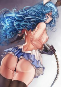 Rating: Questionable Score: 68 Tags: animal_ears ass bunny_ears ferry_(granblue_fantasy) granblue_fantasy no_bra pantsu tahnya thighhighs weapon User: Mr_GT