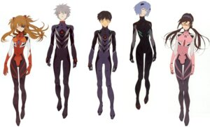 Rating: Safe Score: 32 Tags: ayanami_rei bodysuit eyepatch honda_takeshi ikari_shinji makinami_mari_illustrious megane nagisa_kaworu neon_genesis_evangelion scanning_artifacts souryuu_asuka_langley User: Timbo