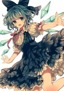 Rating: Safe Score: 30 Tags: cirno dress touhou uiriamu wings User: charunetra