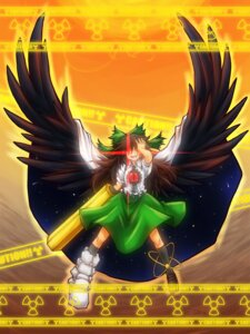Rating: Safe Score: 3 Tags: elehime reiuji_utsuho touhou wings User: Spellcard