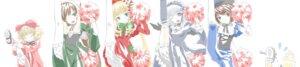 Rating: Safe Score: 5 Tags: heterochromia hina_ichigo lolita_fashion rozen_maiden shinku souseiseki suigintou suiseiseki User: Radioactive