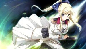 Rating: Safe Score: 30 Tags: ensemble_(company) game_cg heterochromia kimishima_ao otome_ga_tsumugu_koi_no_canvas shishidou_chiharu_flamsteed sword uniform User: Radioactive
