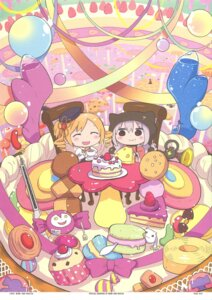 Rating: Safe Score: 14 Tags: chibi dress kyubey momoe_nagisa puella_magi_madoka_magica sankakuhead tomoe_mami User: Radioactive