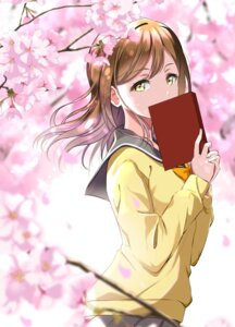 Rating: Safe Score: 15 Tags: gorilla-shi kunikida_hanamaru love_live!_sunshine!! seifuku sweater User: saemonnokami