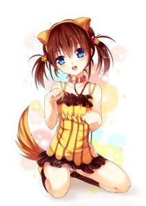 Rating: Safe Score: 64 Tags: animal_ears inumimi kaede_(artist) pantsu tail User: Zenex