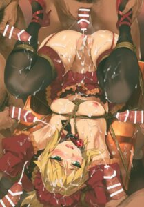 Rating: Explicit Score: 77 Tags: bondage censored color_issue cum fate/grand_order gangbang heels maid mordred_(fate) naked_apron nipples orange_maru penis pussy stockings thighhighs yang-do User: Radioactive