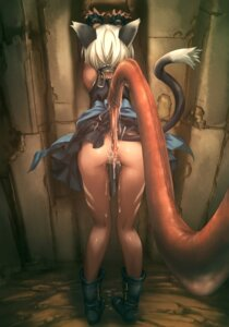 Rating: Explicit Score: 127 Tags: anal animal_ears ass censored cum hitomaru loli nekomimi nopan shrine tail tentacles User: Radioactive