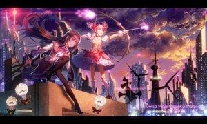 Rating: Safe Score: 31 Tags: akemi_homura dress gun heels kaname_madoka majiang pantyhose puella_magi_madoka_magica weapon User: Mr_GT