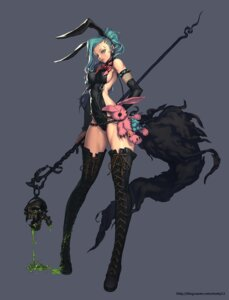 Rating: Safe Score: 50 Tags: bunny_girl heels na_in-sung thighhighs User: blooregardo