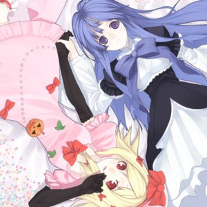 Rating: Safe Score: 27 Tags: dress frederica_bernkastel lambdadelta senmu umineko_no_naku_koro_ni User: Endless