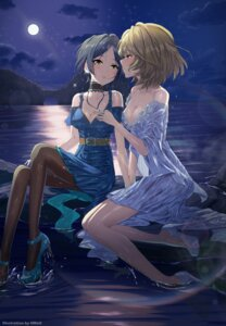 Rating: Questionable Score: 24 Tags: cleavage dress hayami_kanade heels no_bra pantyhose see_through skirt_lift tagme takagaki_kaede the_idolm@ster the_idolm@ster_cinderella_girls wet wet_clothes yuri User: Mr_GT