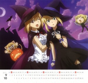 Rating: Safe Score: 28 Tags: amisaki_ryouko animal_ears arcueid_brunestud calendar carnival_phantasm chibi crossover dress fate/stay_night halloween lolita_fashion neko_arc neko_arc_bubbles nekomimi saber tail tsukihime wings witch User: omegakung