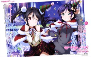 Rating: Safe Score: 32 Tags: christmas dress love_live! love_live!_school_idol_diary_special_edition murota_yuuhei toujou_nozomi yazawa_nico User: drop